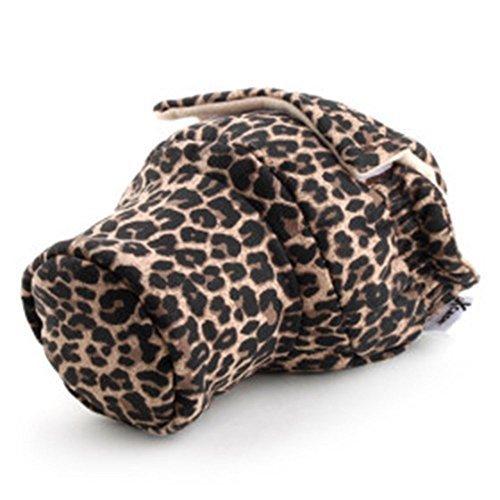 Ismartdigi I-PBL01 Leopard Pattern Pig Style Bag for SLR Digital ()