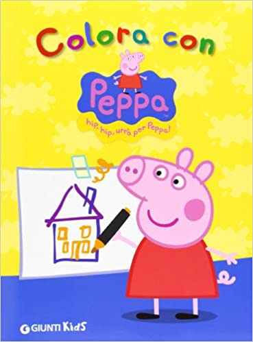 Amazon It Colora Con Peppa Pig Aa Vv Libri