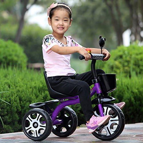 子供の三輪自転車オスとメスの赤ちゃん子供の自転車(2-6歳)ベビーカー