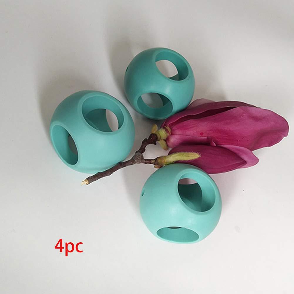 Ghair2 Bola de Lavado magn/ética Paquete de 4 Bolas//Bola antical para Lavadora lavander/ía//Lavado