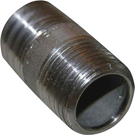 "Stainless Steel Pipe Nipple 1//8/"" x 2/"" Type 304"
