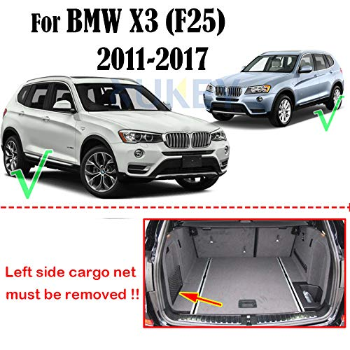 For X3 F25 2011 2012 2013 2014 2015 2016 2017 Tailored Boot Liner Cargo Tray Rear Trunk Liner Floor Mat Sheet Carpet Luggage Tray Waterproof