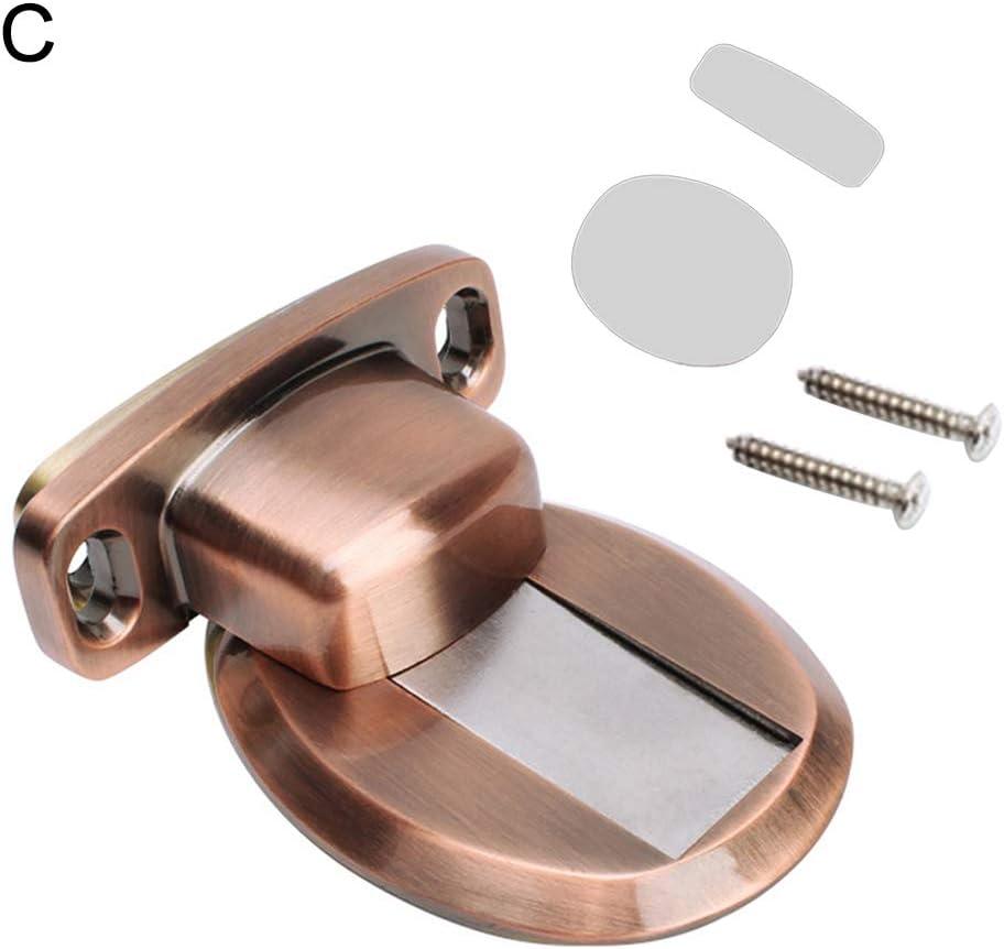 Metal Door Stop Catches Doorstop Door Stopper Holder Catcher Copper