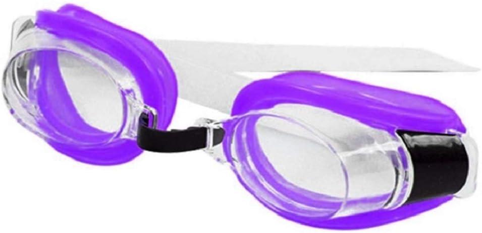 Kiralove - Gafas de natación para niños y adultos, idea regalo original de Navidad y cumpleaños, tapones para la nariz y los oídos