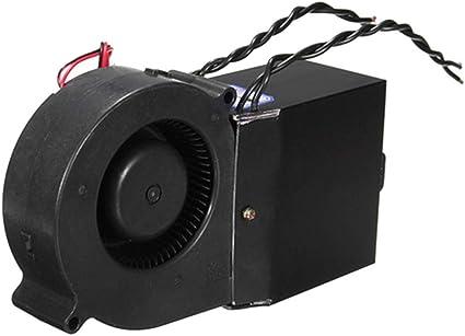 Keenso 12V 24V Adjustable Ceramic Car Heater Heating Warmer Defroster Demister 150W-500W Car Heater Heating Fan 2 Wide Socket