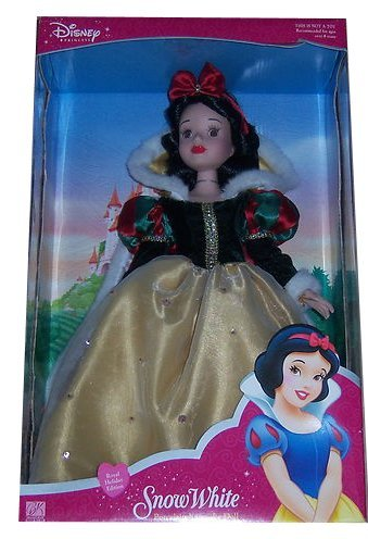 Brass Key Princess Royal Holiday Series - Snow White Porcelain Keepsake (Brass Key Keepsakes)
