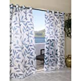 Cheap Outdoor decor Escape Leaf Outdoor or Indoor Voile Panel, 54 x 96