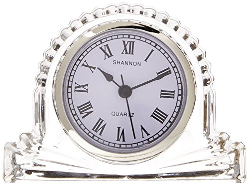 Shannon Small Mantle Clock (Crystal Clock Truly)