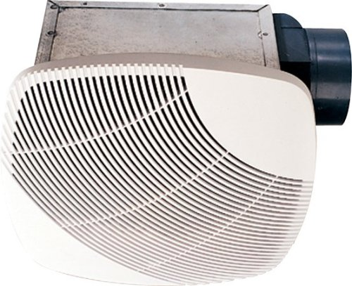 (nuVent NXMS90 90 CFM High Efficiency Bath Fan with Square Grill)