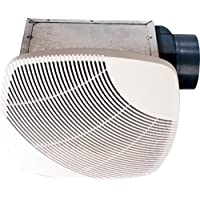nuVent NXMS90 90 CFM High Efficiency Bath Fan with Square Grill