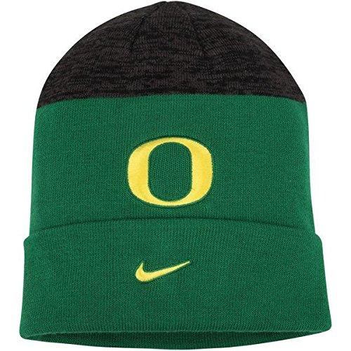 Oregon Ducks Nike Sideline Cuffed Knit Hat - Green