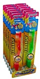 Dr. Fresh Firefly, The Original Flashing Light Up Timer Toothbrush for Kids, Soft Bristle, 1 Minute Timer (Pack of 12)