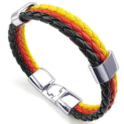 KONOV Womens Feather Bracelet Germany