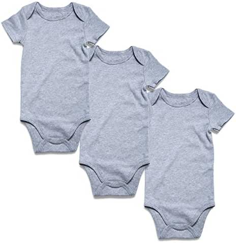 Romperinbox Place Unisex Baby Bodysuits 100% Cotton Boys Girls 0-24 Months