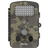"Trail Hunting Camera , Blusmart Wildlife Camera 12MP 1080P HD With Time Lapse 65ft 120° Sensor 50 Degree Animal camera Infrared Night Vision 42pcs IR LEDs 2.4"" LCD Screen Scouting Camera"