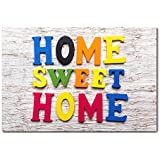 Placa Decorativa - Home Sweet Home - 1202plmk