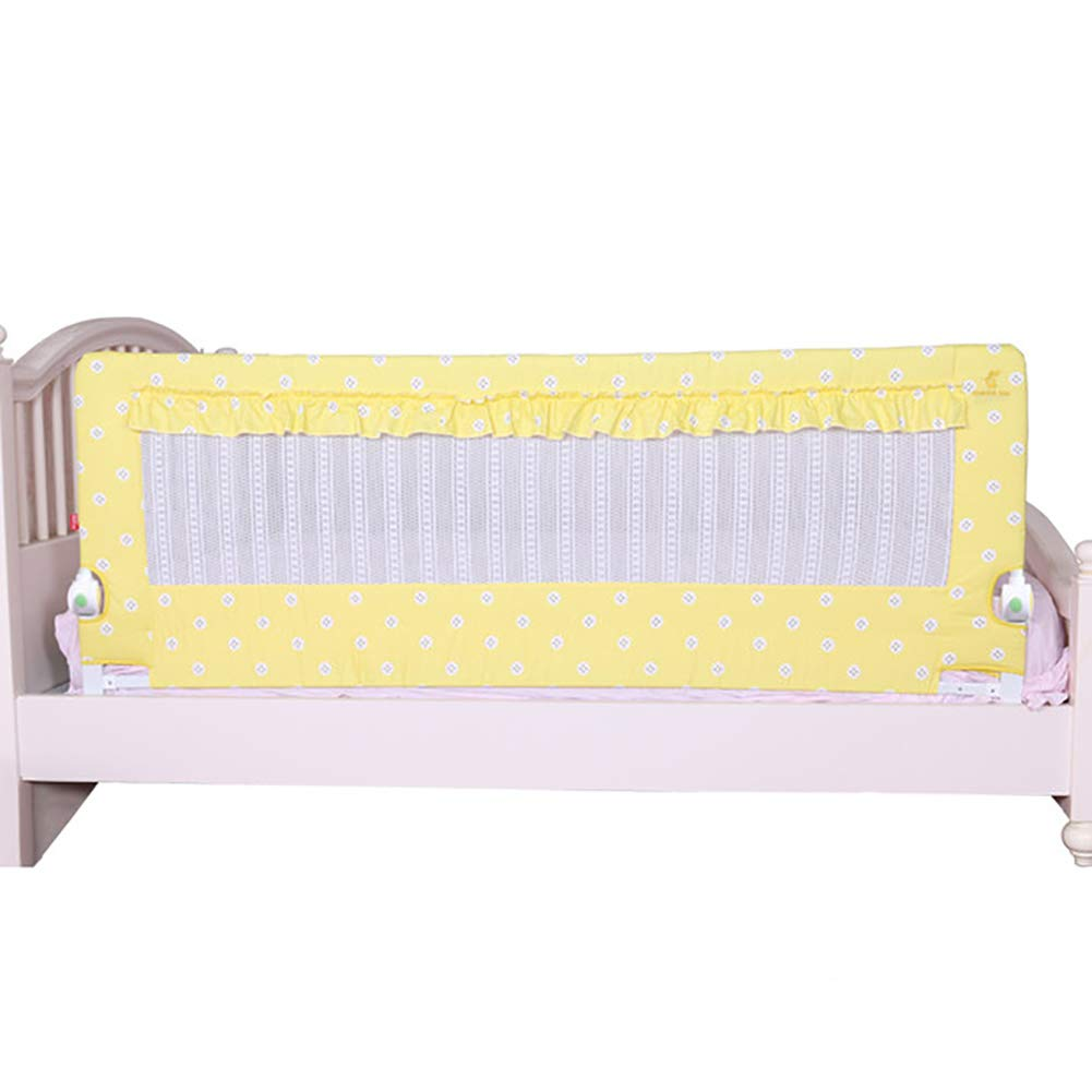 ベッドフェンス, 折りたたみ式折りたたみ式ベッドレイルガード(赤ちゃん用)、幼児用ベッドレール安全保護ガード(キングサイズ/クイーンサイズベッド用) - 高さ68cm (色 : Style 3, サイズ さいず : 180cn) 180cn Style 3 B07JZDDR8R