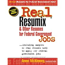 Real Resumix & Other Resumes for Federal Government Jobs
