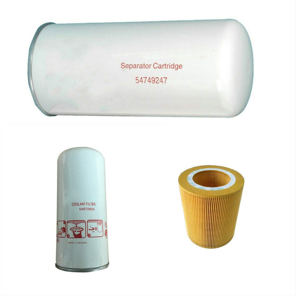 FILME 54749247 Air Oil Filter Kit 54672654 for Ingersoll Rand Compressor 89295976 UP5-18-22 by FILME