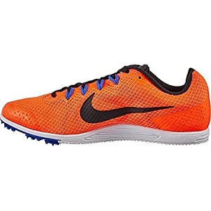 Nike Men's Zoom Rival D 9 Track and Field Shoes(Orange/Black, 13 D(M) US)