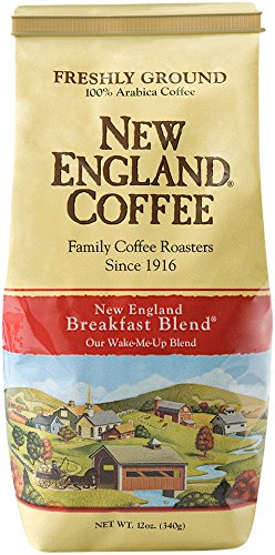 New England Coffee New England Breakfast Blend, 12 (Breakfast Blend Coffee)