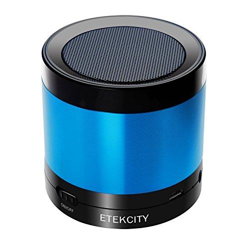 Etekcity RoverBeats T16 Ultra Portable Wireless Bluetooth Speaker, Enhanced Bass (Blue)