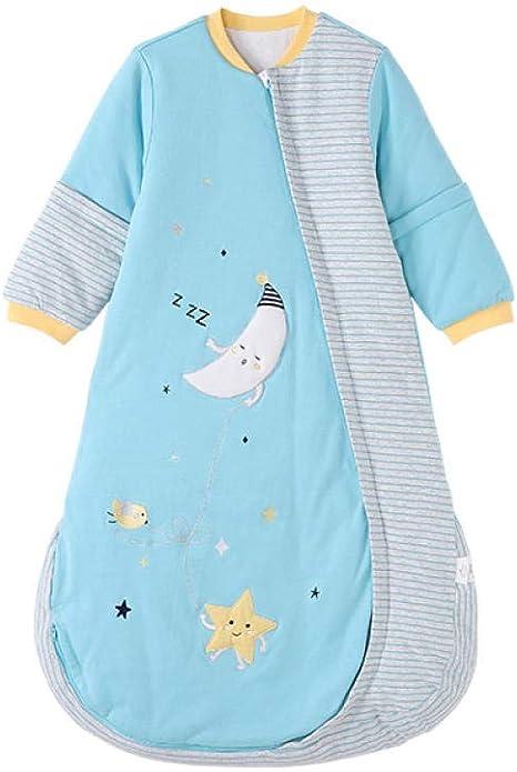 Saco de dormir para bebé Saco de dormir desmontable de manga larga acolchado para bebé de hombres y mujeres sacos de dormir para niños bebé: Amazon.es: Bebé