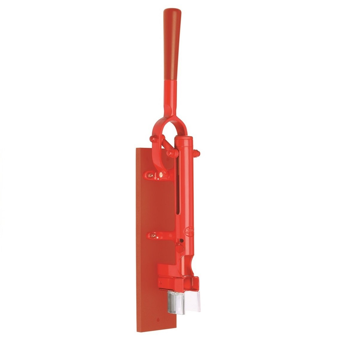 Wall Mounted Corkscrew Finish: Red