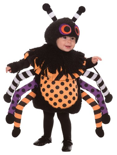 This Guy Costumes Baby's Spider, Black/Orange/Purple, 18-24 -