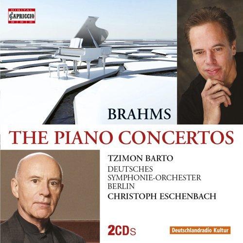 Brahms: The Piano Concertos [Tzimon Barto, Christoph Eschenbach] [Capriccio: C5210] by Tzimon - Deutche Land