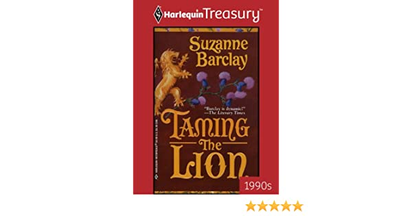 taming the lion barclay suzanne