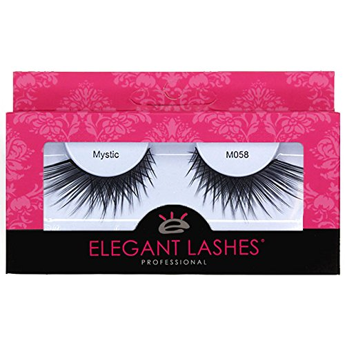2a3dae7f79f Amazon.com : Elegant Lashes M058 Mystic | Premium Professional-Quality  Cruelty-Free Faux Mink False Eyelashes : Beauty