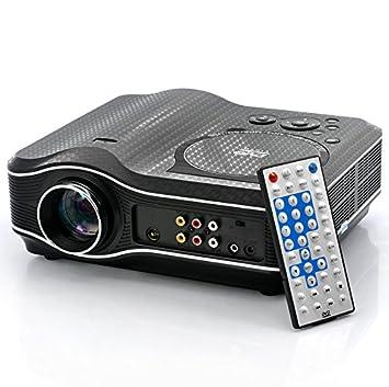 Proyector de DVD con reproductor de DVD construido en: Amazon.es ...