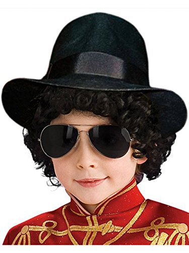 Michael Jackson Black Fedora Child Hat ()