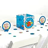Big Dot of Happiness Under The Sea Critters - Baby Shower or Birthday Party Centerpiece & Table Decoration Kit