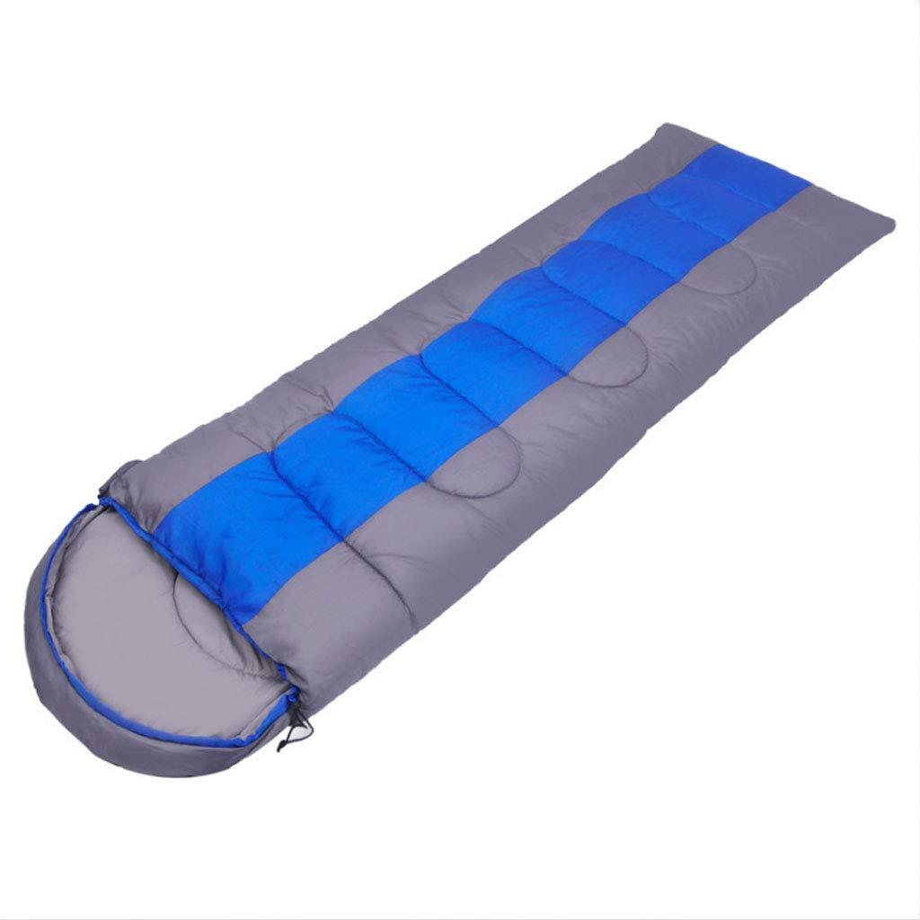 Bleu 1.4kg-22075cm DGB Sac De Couchage en Coton avec Sac De Couchage en Coton Ultra-léger pour Adultes, Adulte