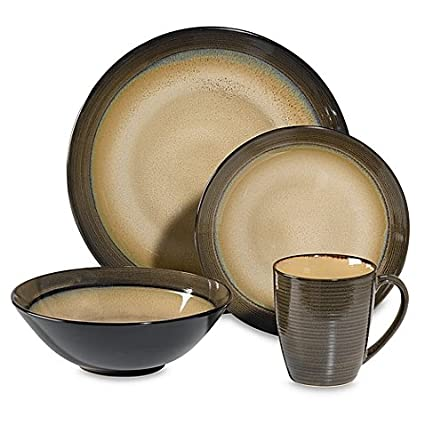Sango Roma Sage 16-Piece Dinnerware Set  sc 1 st  Amazon.com & Amazon.com: Sango Roma Sage 16-Piece Dinnerware Set: Home u0026 Kitchen