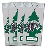 12 Pack Car Freshner 10101 Little Trees Air Freshener Royal Pine Scent - Single Tree per Package