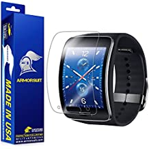 ArmorSuit MilitaryShield - Samsung Gear S Screen Protector [Full Coverage][2 Pack] Anti-Bubble Ultra HD Shield w/ Lifetime Replacements