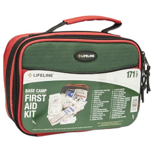 Lifeline 171-Piece Basecamp Soft Shell First Aid Kit (First Starter Pack Aid)