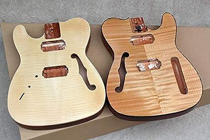 Cuerpo de guitarra eléctrica de caoba para diestros y zurdos ...
