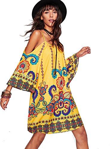 Milumia Womens Tribal Kimono Geometric product image