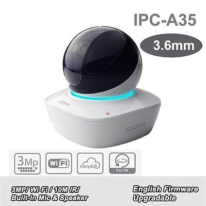 Amazon com : Dahua 3MP A Series Wi-Fi Network PT Camera IPC