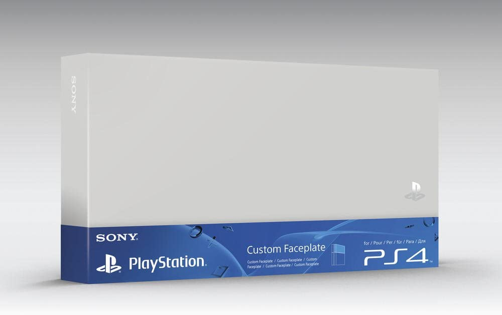 Sony - Carcasa Intercambiable Para Consola Playstation 4, Color Blanco: Amazon.es: Videojuegos