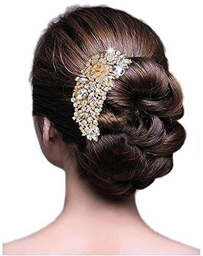 Amazon Miracoco 髪飾り 結婚式 ゴールド ヘアアクセサリー 和装