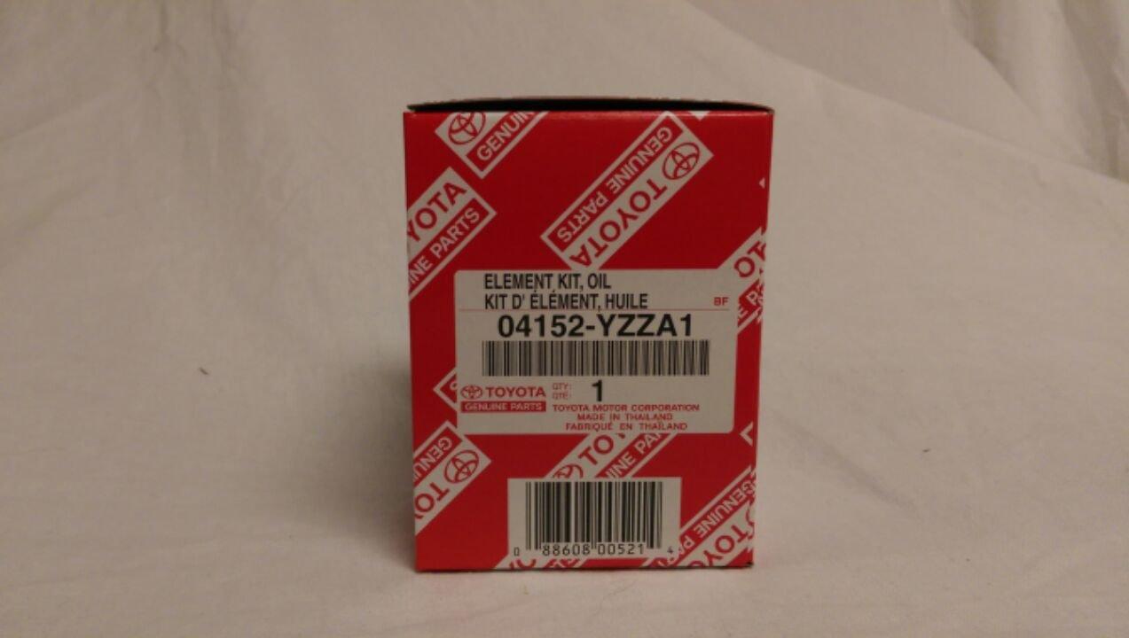 Toyota Genuine Parts 04152 Yzza1 1 2 Case Qty5 Oil 2005 Lexus Rx330 Filter Filters Model Car Vehicle Accessories Automotive