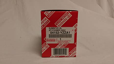 Toyota Genuine Parts >> Amazon Com Toyota Genuine Parts 04152 Yzza1 1 2 Case Qty5 Oil