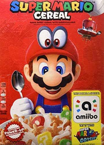 Breakfast Cereal: Super Mario