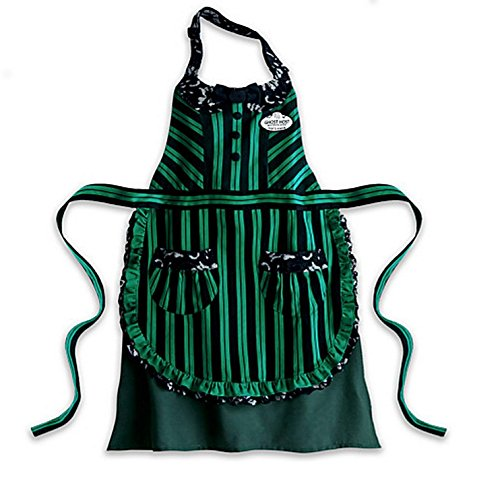 Disney Haunted Mansion Ghost Host Hostess Maid Kitchen Apron Adult (Disney Haunted Mansion Halloween)