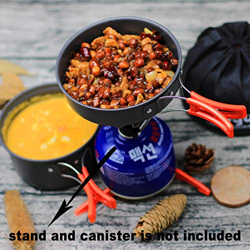 Stainless Steel Frying Pan Folding Outdoor Picnic Home Pot Cookware